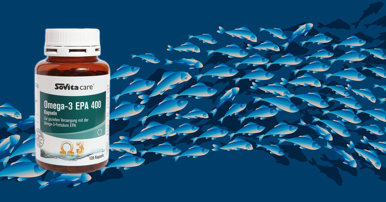Fischölkapseln - reich an EPA
